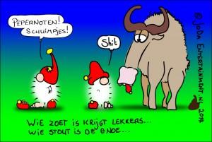 Sinterklaas, lief zijn hoor